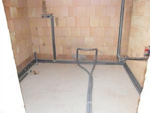 Kúpeňa na prízemí bude s WC.19.3.2011