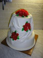 To je náš objednaný dortík :o)