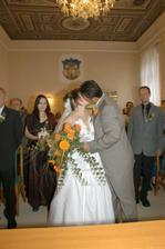 první manželský kiss