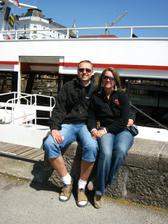 To jsme už v Rakousku u jezera Traumse na svatební cestě.