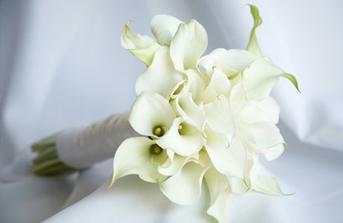 svatební kytice kala:)