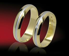 To jsou naše snubní prstýnky
