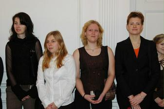 Olí, Jana, Zuzka, Kamila