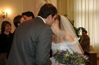 Milan a Kamila gratulují