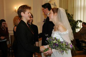 Kamila a Mája gratulují