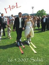 Naše první manželské kroky..:))