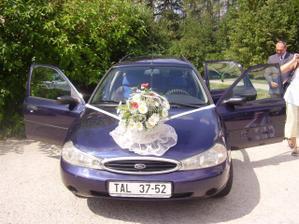 Tohle bylo moje autíčko.