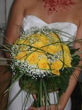 Kytka pro nevěstu.