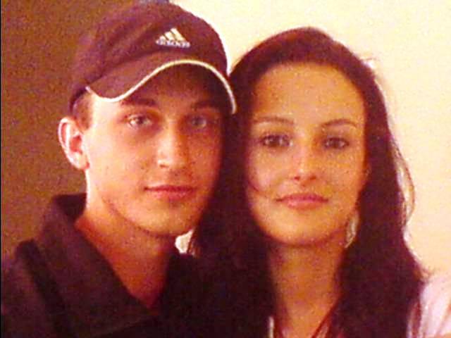 Veronika a Marek - no a to som ja a moj drahý, :O)