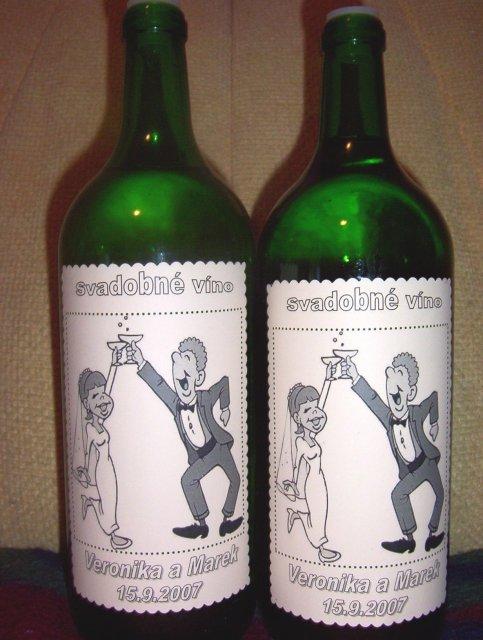 Veronika a Marek - Svadobné vínko