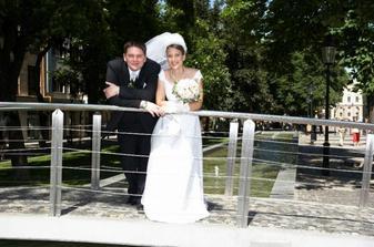 Na mostíku, trošku fúka vietor