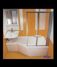 By Happy - báječný výber vane do malého priestoru pri maximalne zachovanom komforte