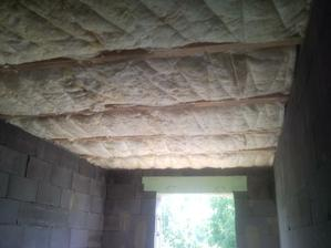 izolujeme strop