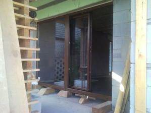 posuvne dvere na terasu