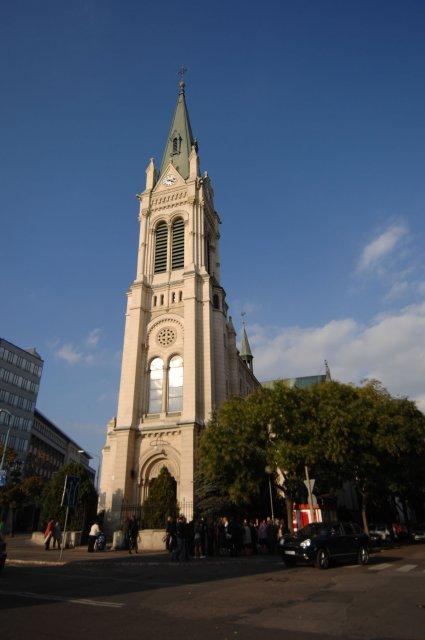 Jeden z najkrajsich kostolov v BA