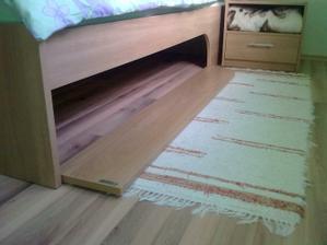 Ulozny priestor pod postelou