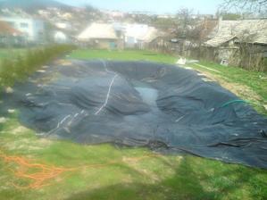 jar 2011,pokracujeme v priprave jazera