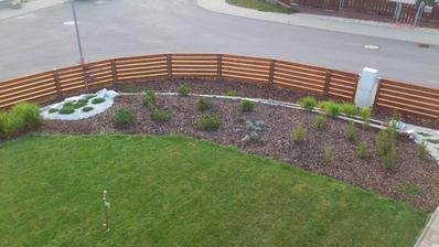 Pohled z patra...plot skoro hotov....