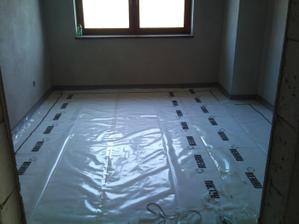 Ďalšia izba hotová.