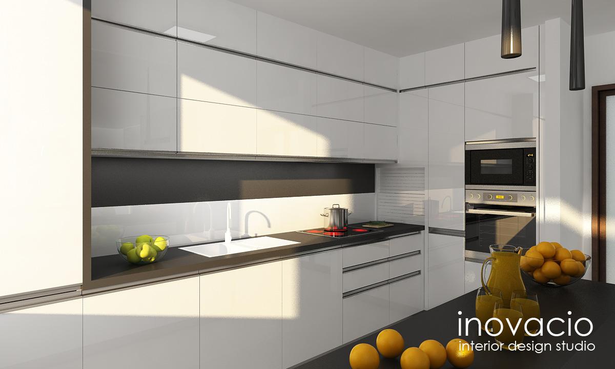 Projekt obývačky a kuchyne Veľké Vozokany 2014 - Obrázok č. 2