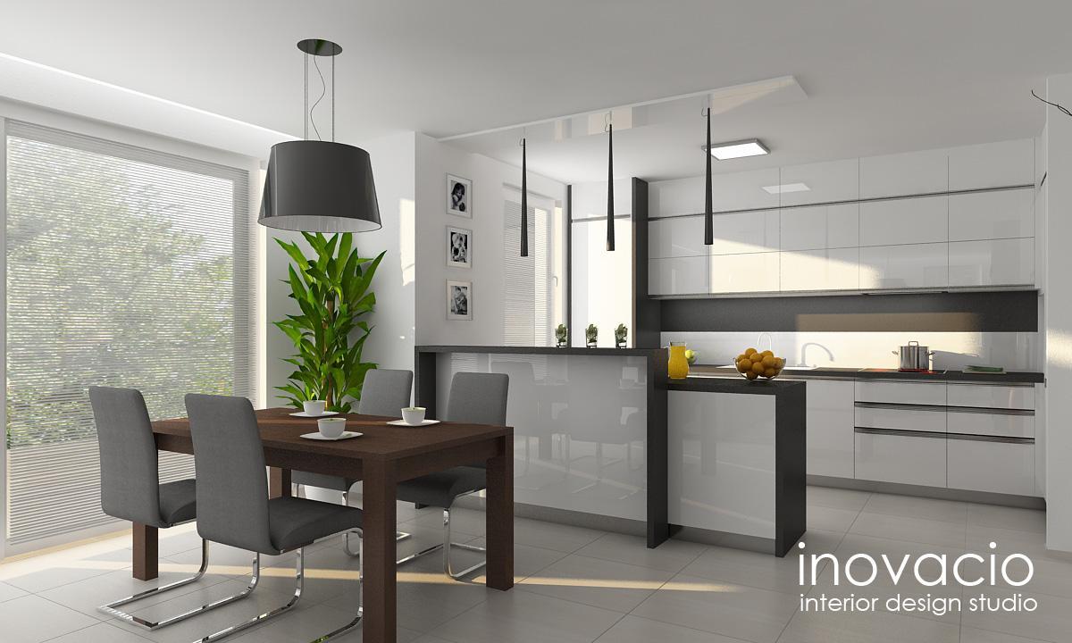Projekt obývačky a kuchyne Veľké Vozokany 2014 - Obrázok č. 5