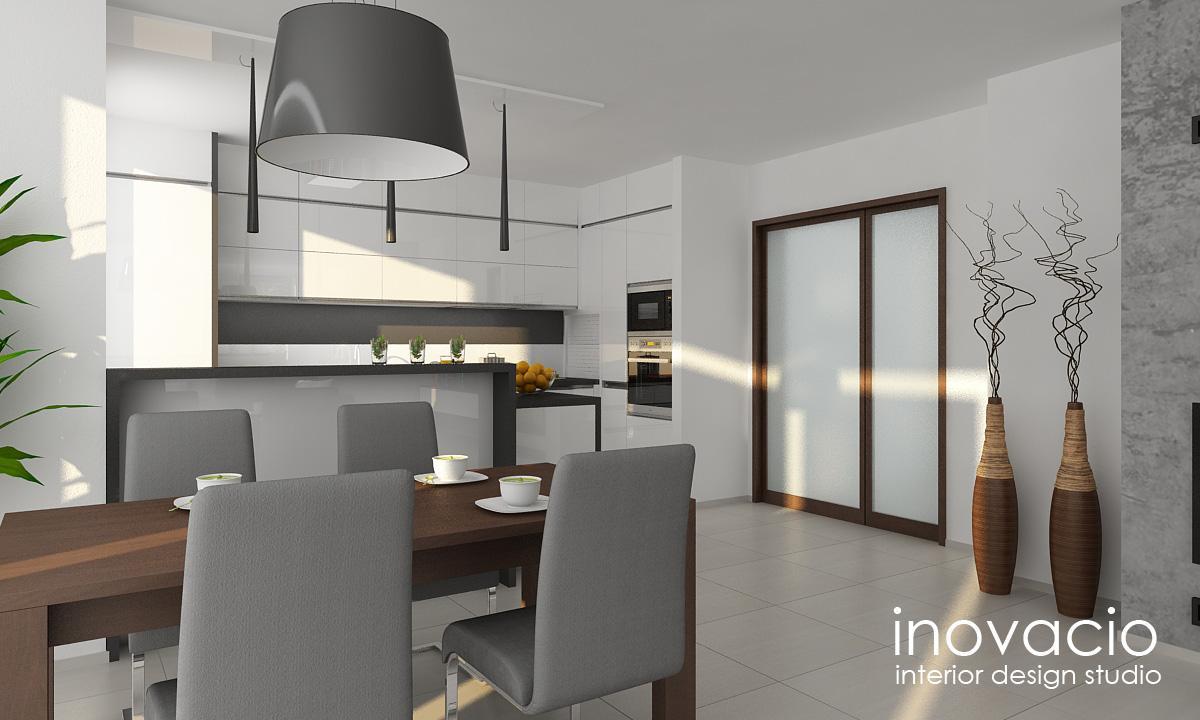 Projekt obývačky a kuchyne Veľké Vozokany 2014 - Obrázok č. 6