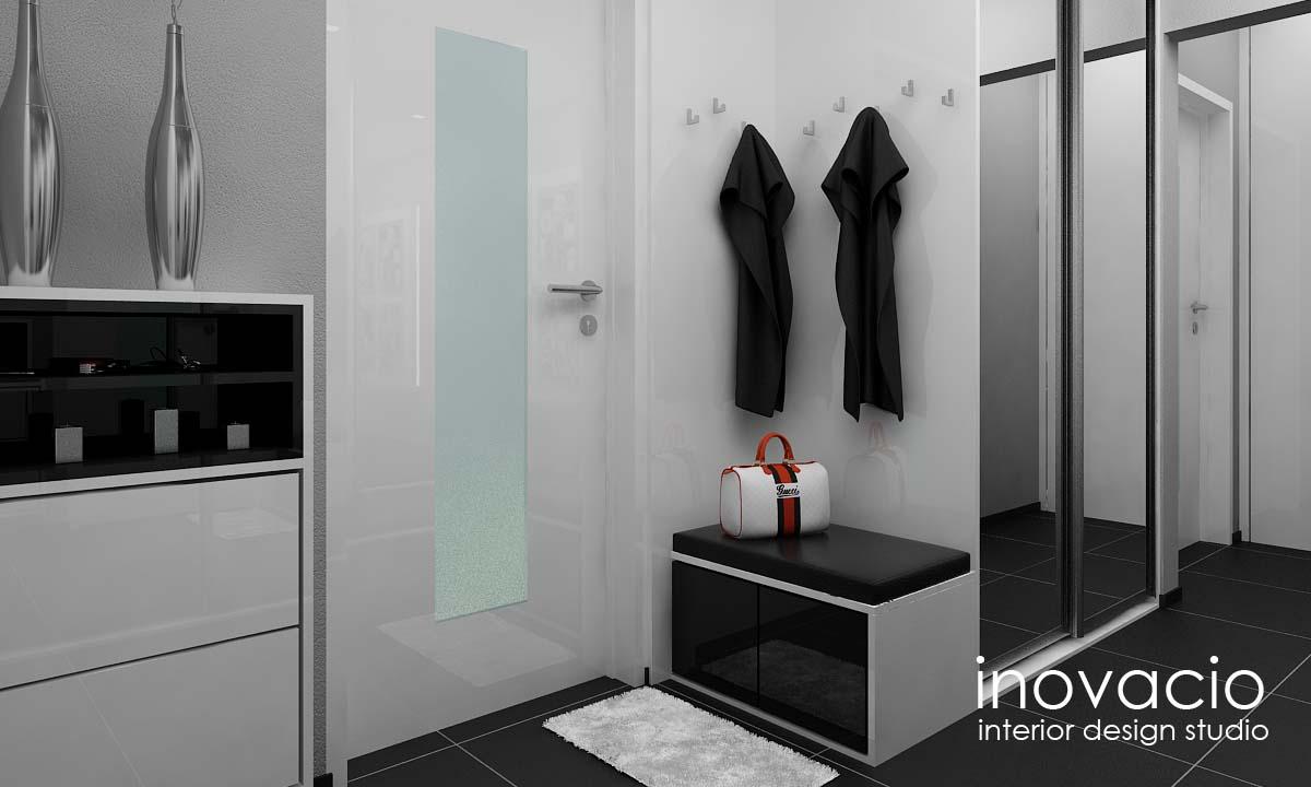 Interiér obývačky, kuchyne a chodby - byt Levice 2017 - Obrázok č. 10