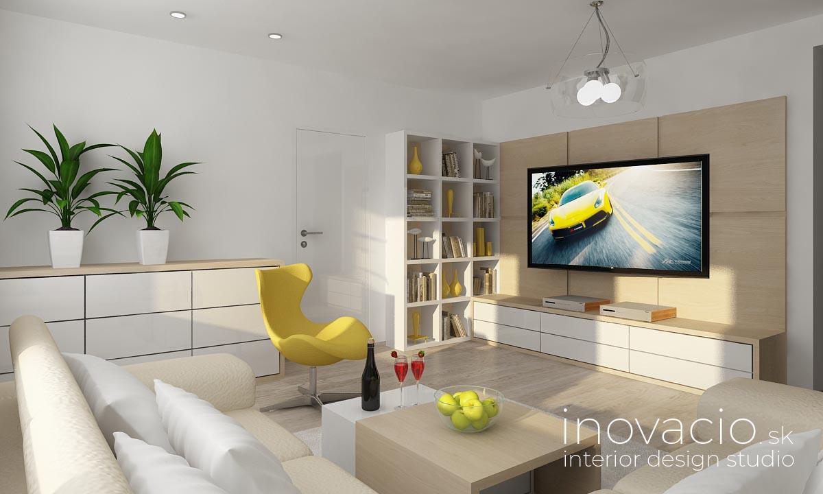 Interiér obývačky Pezinok 2018 - byt - Obrázok č. 1