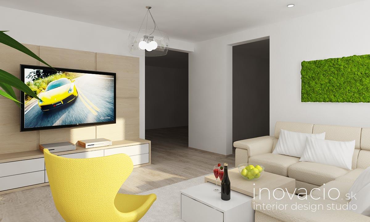Interiér obývačky Pezinok 2018 - byt - Obrázok č. 3