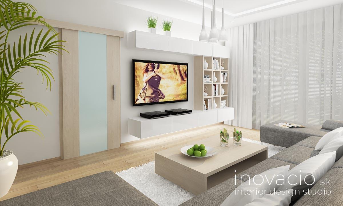 Interiér obývačky vo Veľkých Vozokanoch 2018 - Obrázok č. 1