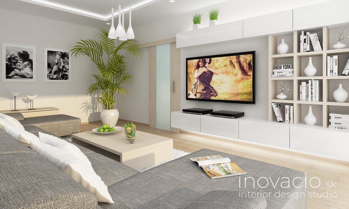 Interiér obývačky vo Veľkých Vozokanoch 2018 - Obrázok č. 2