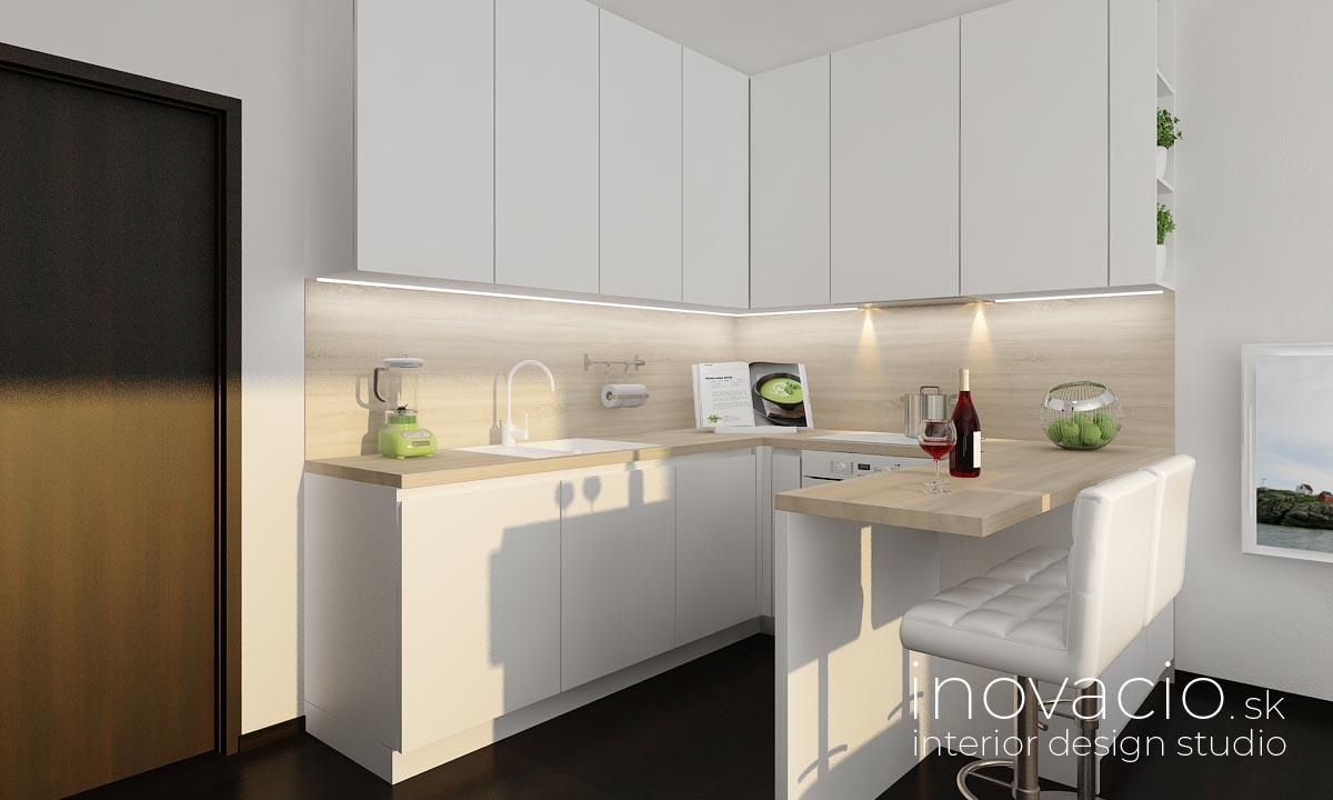 Interiér obývačky a kuchyne Kopidlno 2019 - Obrázok č. 5
