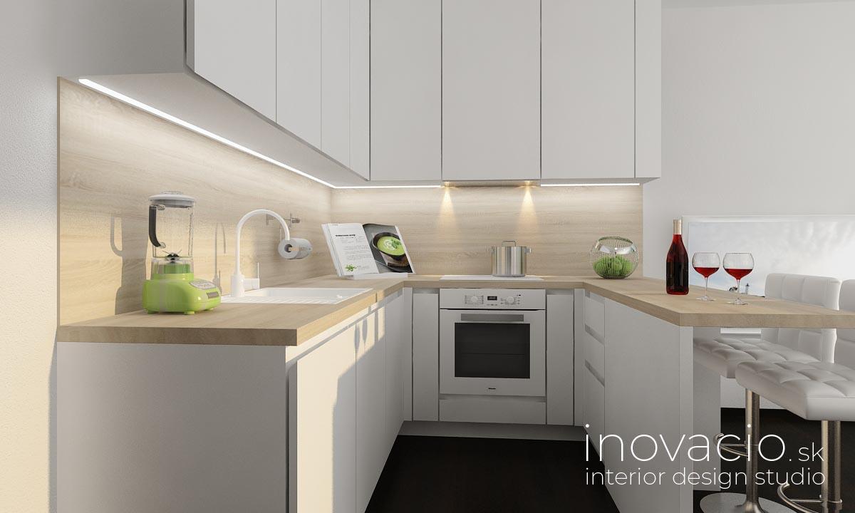 Interiér obývačky a kuchyne Kopidlno 2019 - Obrázok č. 6