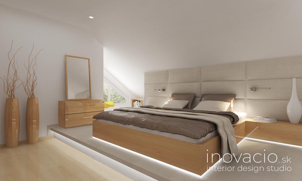 Inovacio - interiér spálne Lučenec 2019 - rodinný dom - Obrázok č. 1