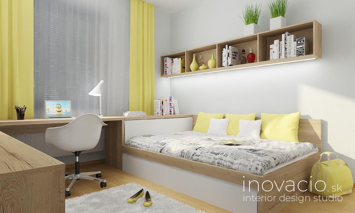 Inovacio - interiér detskej izby Nové Zámky 2019 - rodinný dom - Obrázok č. 2