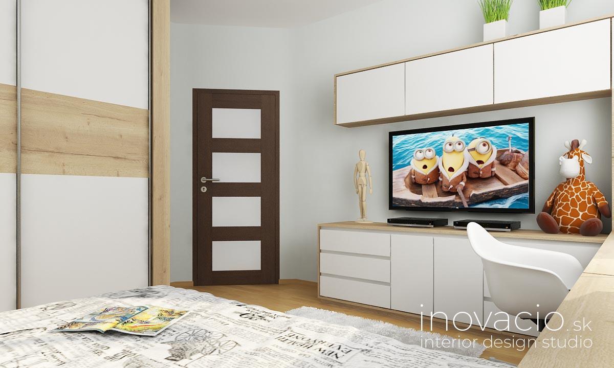 Inovacio - interiér detskej izby Nové Zámky 2019 - rodinný dom - Obrázok č. 3