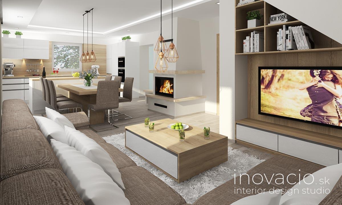 Inovacio - interiér kuchyne a obývačky Boleraz 2019 - Obrázok č. 1