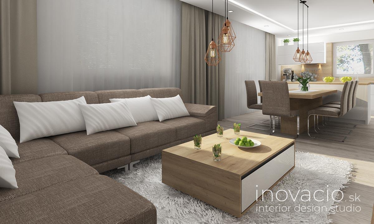 Inovacio - interiér kuchyne a obývačky Boleraz 2019 - Obrázok č. 2