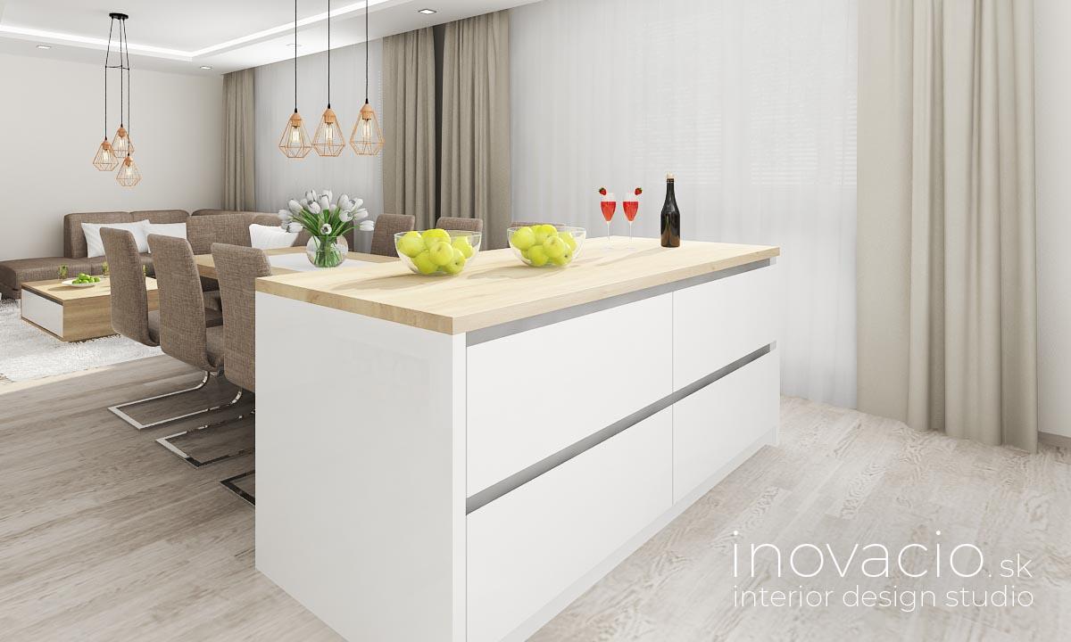 Inovacio - interiér kuchyne a obývačky Boleraz 2019 - Obrázok č. 6
