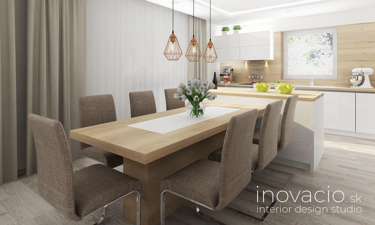 Inovacio - interiér kuchyne a obývačky Boleraz 2019 - Obrázok č. 7