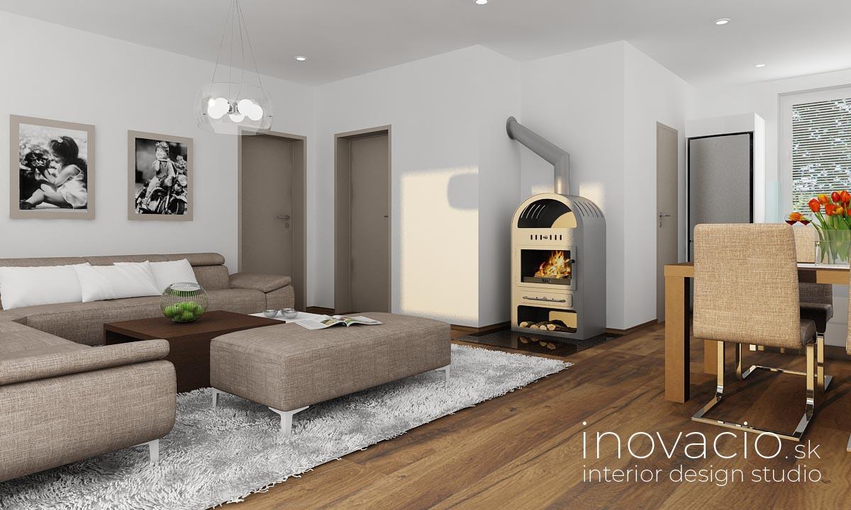 Inovacio - interiér kuchyne a obývačky Nová Baňa 2019 - Obrázok č. 4