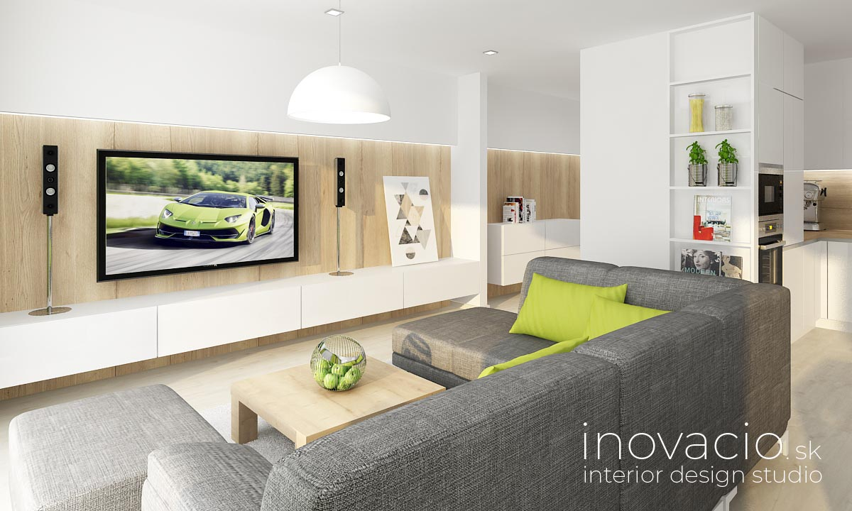 Inovacio - interiér obývačky Trenčín 2019 - Obrázok č. 1