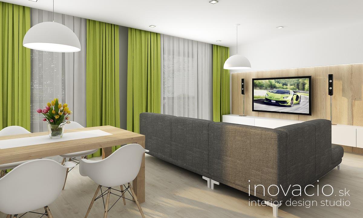 Inovacio - interiér obývačky Trenčín 2019 - Obrázok č. 2