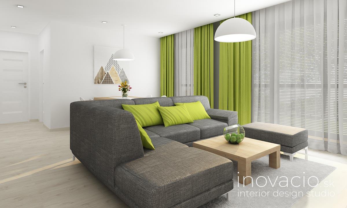 Inovacio - interiér obývačky Trenčín 2019 - Obrázok č. 3