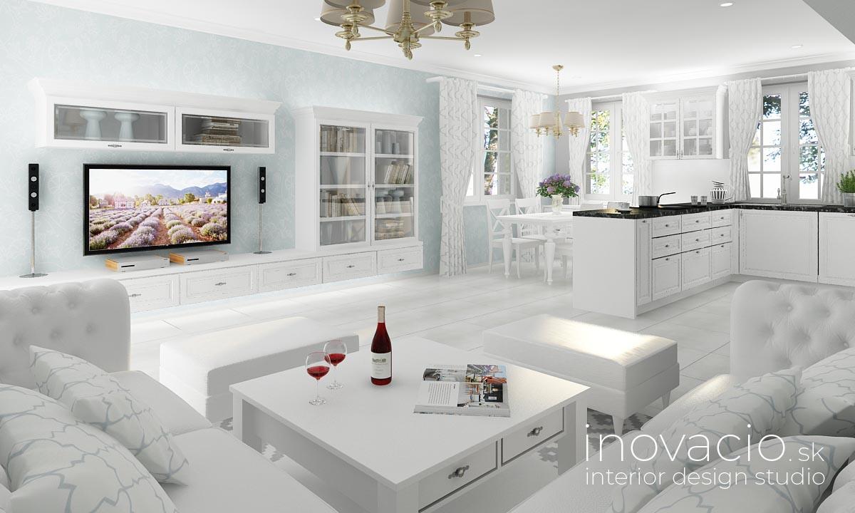 Inovacio - interiér obývačky Tesárske Mlyňany 2019 - rod. dom - Obrázok č. 2