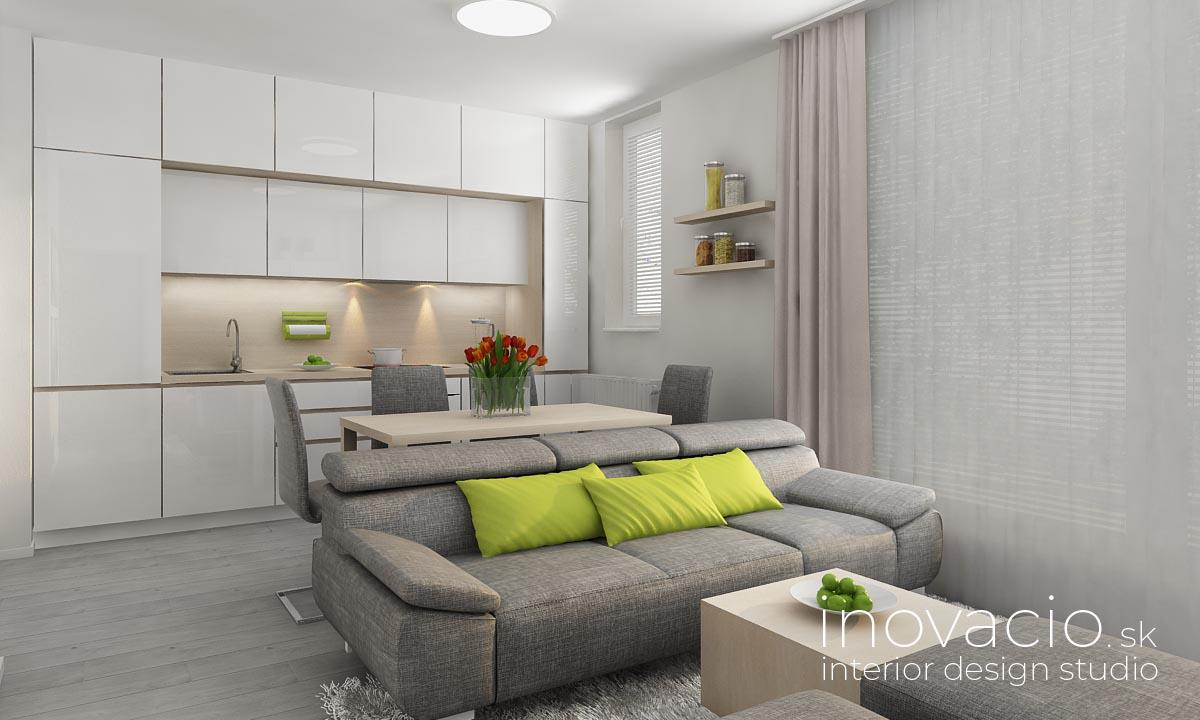 Inovacio - interiér kuchyne a obývačky Zvolen 2019 - Obrázok č. 1