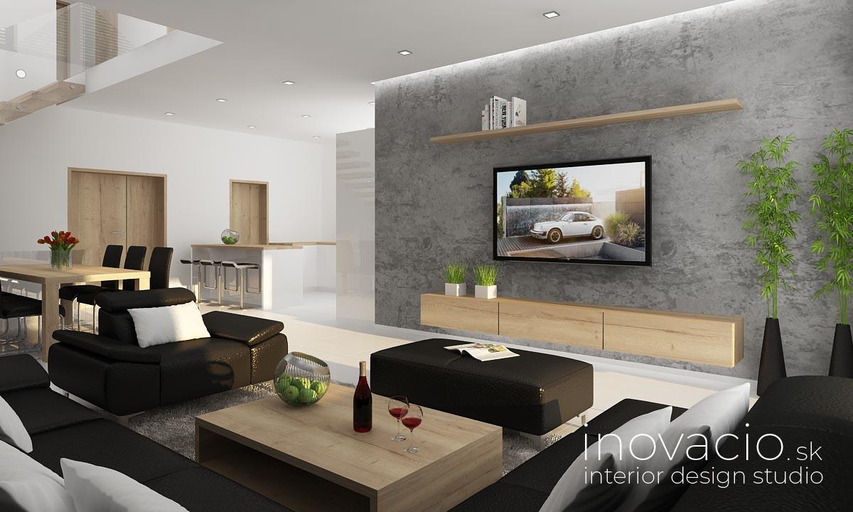 Inovacio - interiér obývačky Trnava 2019 - rodinný dom - Obrázok č. 1