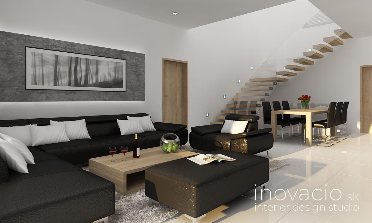 Inovacio - interiér obývačky Trnava 2019 - rodinný dom - Obrázok č. 2