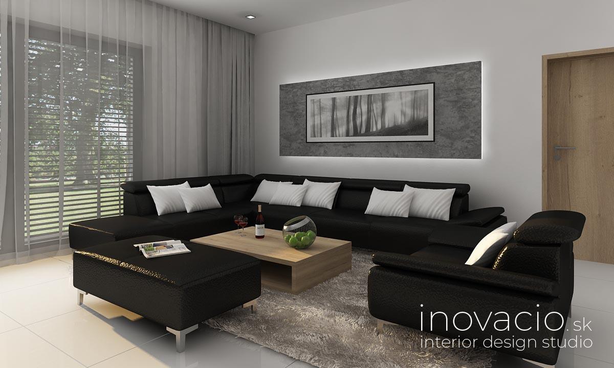 Inovacio - interiér obývačky Trnava 2019 - rodinný dom - Obrázok č. 3