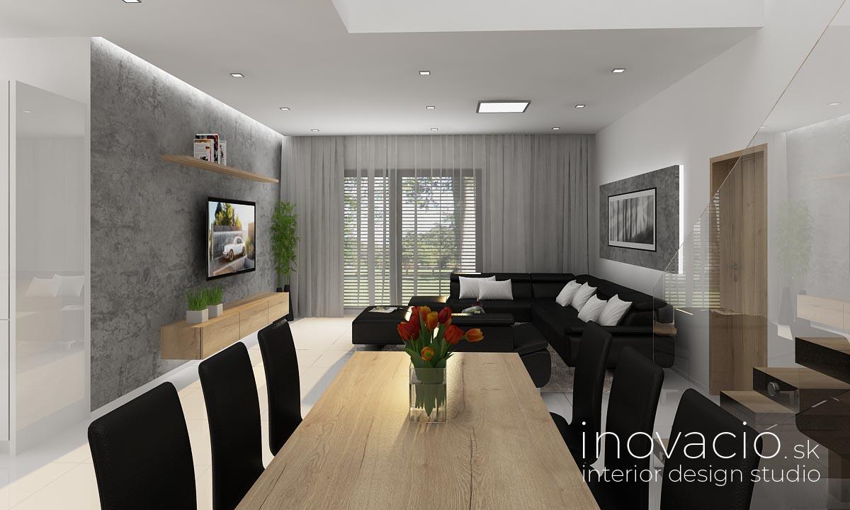 Inovacio - interiér obývačky Trnava 2019 - rodinný dom - Obrázok č. 4